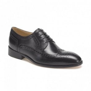 Fernando Black Sheep Skin shoe - Black