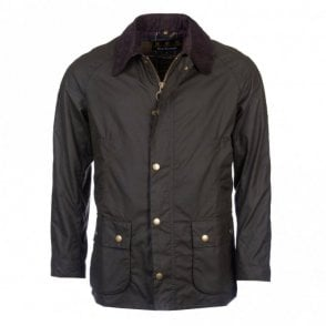 Ashby Wax Jacket - Green