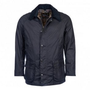 Ashby Wax Jacket - Navy