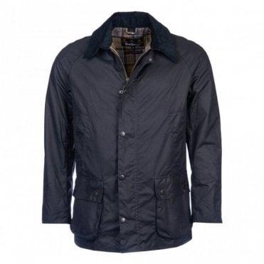 Ashby Wax Jacket - Navy