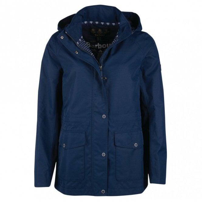 Barbour Backshore Waterproof Breathable Jacket - Navy