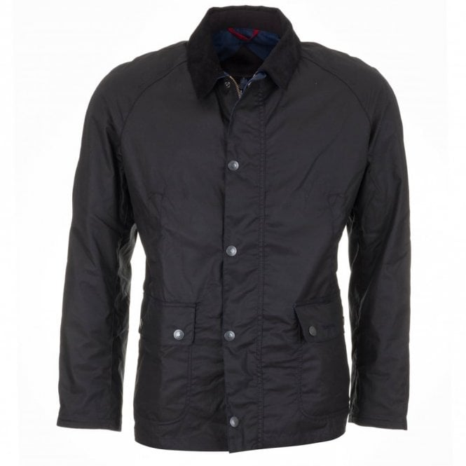 Banavie Wax Jacket - Navy