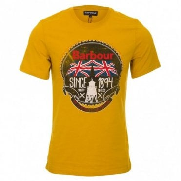 Beach Bungalow T-Shirt - Mustard Gold