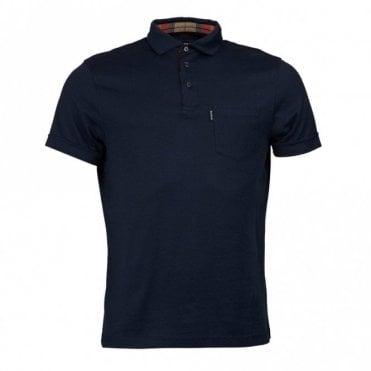 Barbour Brandreth Polo Shirt - New Navy