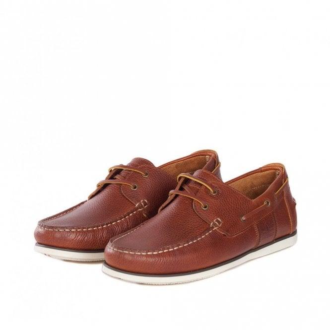 Barbour Capstan Boat Shoe - Cognac