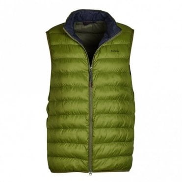 Barbour Crone Gilet - Vintage Green