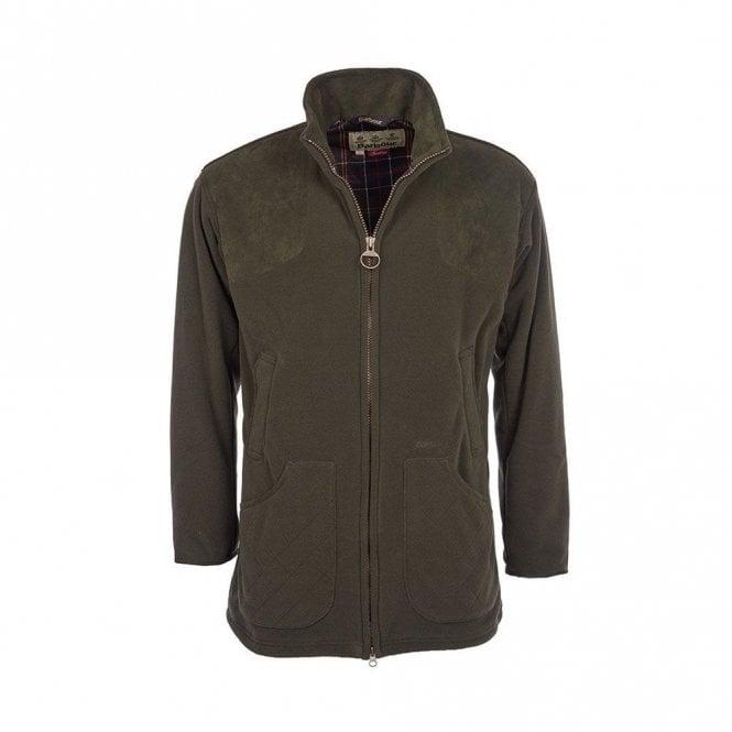 Barbour Dunmoor Fleece Jacket - Green