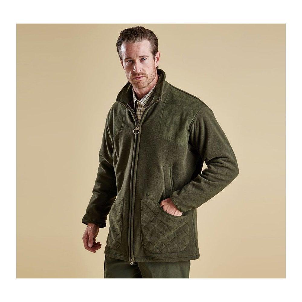new concept new collection designer fashion Barbour Men's Dunmoor Fleece Jacket - Green (MFL0069OL71)