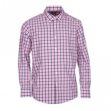 Fonthill Check shirt - Pink Check