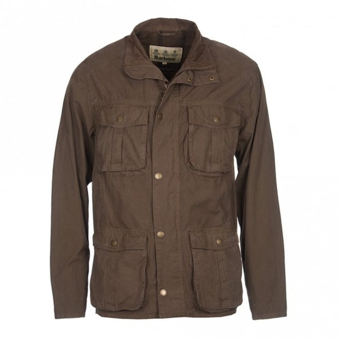 Barbour Gateford Jacket Mid Olive - Green