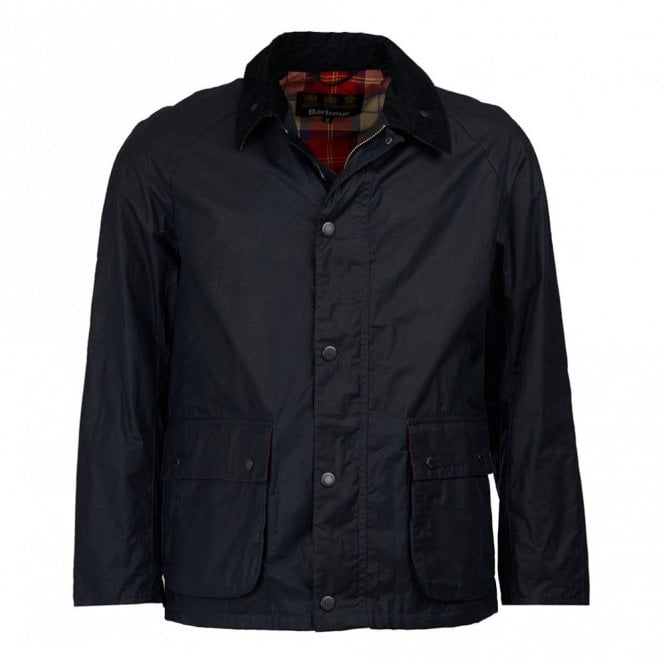 Barbour Glen Wax Jacket - Royal Navy
