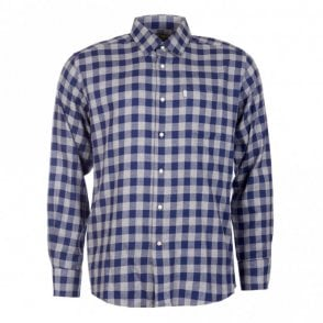 Greystoke Check Shirt - Navy
