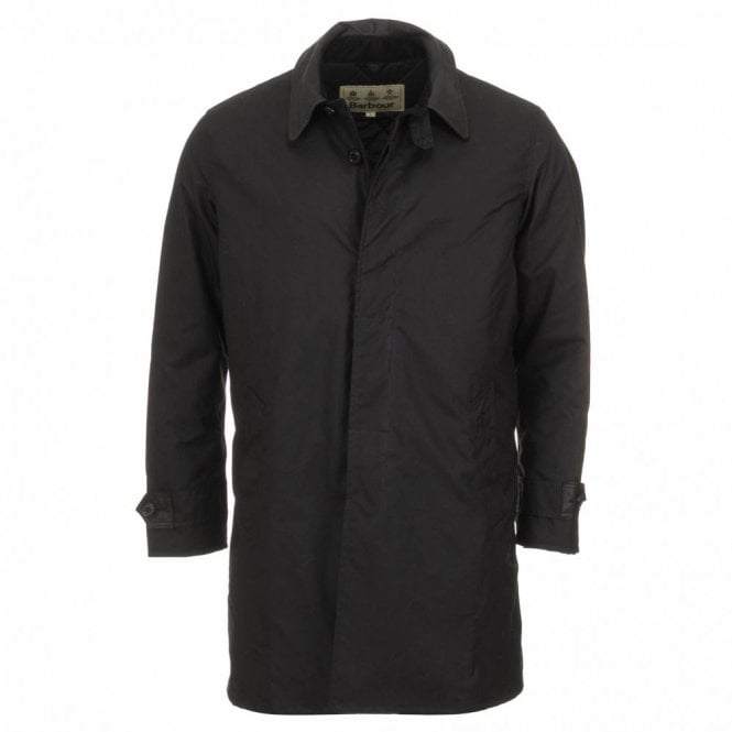 Barbour Hartridge Wax Jacket - Black