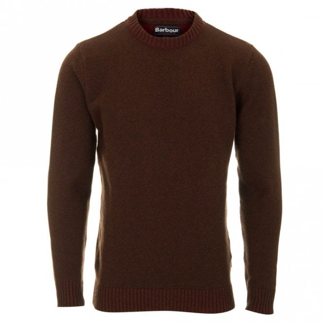 Barbour Houghton Crew Neck - Brown