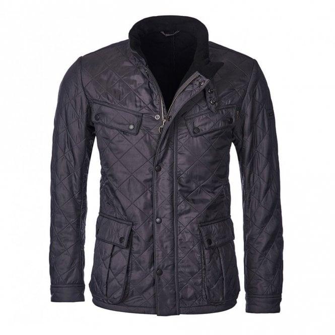 Barbour International Ariel Polarquilt Jacket - Charcoal