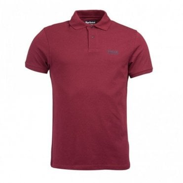 Essential Polo Shirt Port - Burgundy