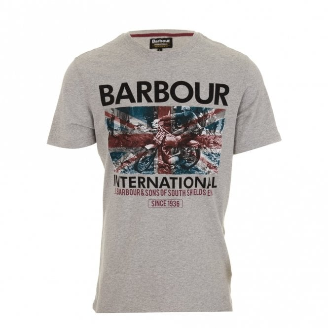 Barbour International Hydro Tee - Grey