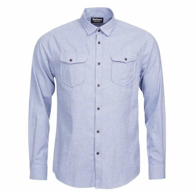 Barbour International Men's Altinator Shirt - Blue
