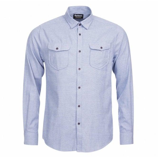Barbour International Men's Altinator Shirt - Blue