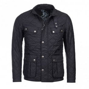 Men's Ariel Quilted jacket - Black