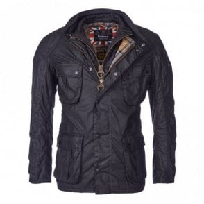 Men's Gauge Wax Jacket - Black
