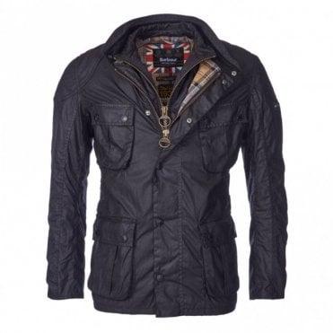 Men's Gauge Wax Jacket - Black