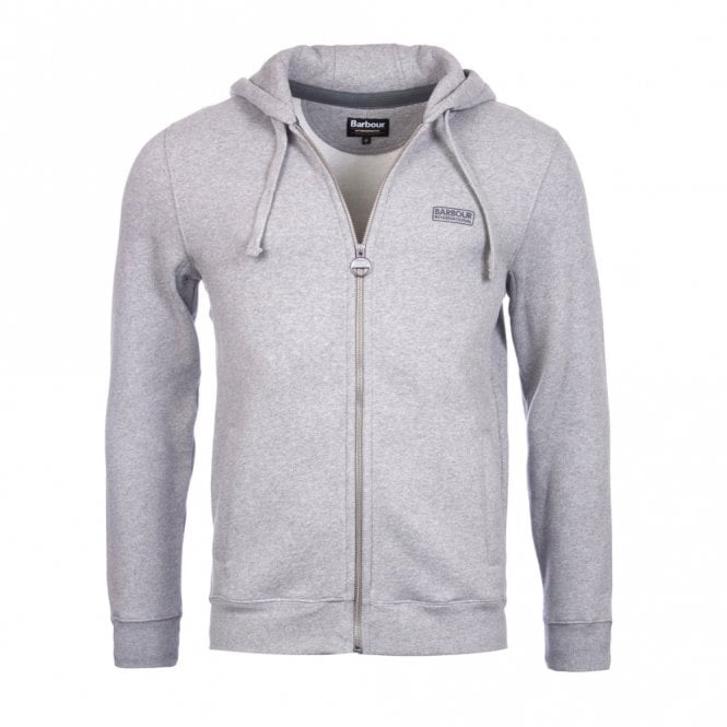 Barbour International Men's Small Logo Hoody - Grey