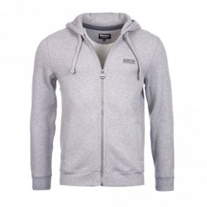 Men's Small Logo Hoody - Grey