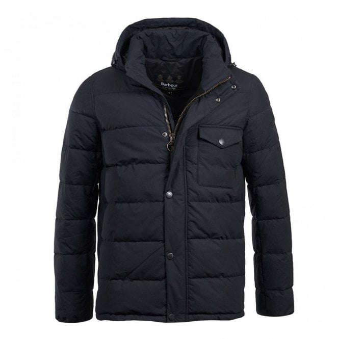 Barbour International Pivot Quilt Jacket - Navy