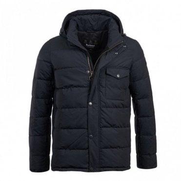Pivot Quilt Jacket - Navy