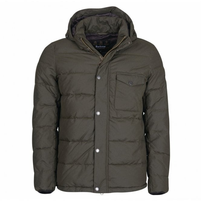 Barbour International Pivot Quilt Jacket Sage - Green