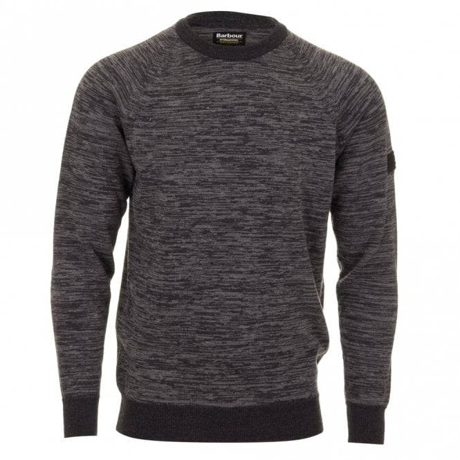 Barbour International Victory Crew Neck - Grey