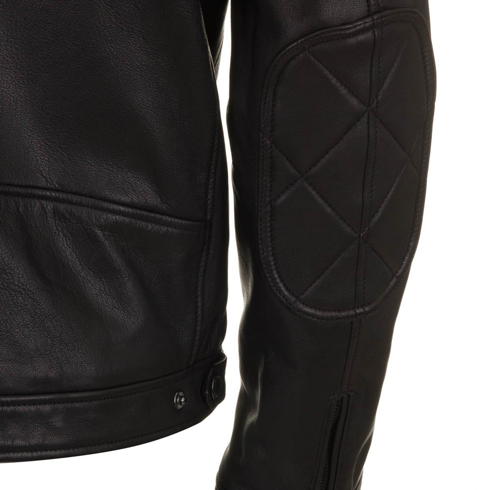 Barbour international leather jacket