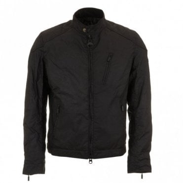 Winter Sprocket Wax Jacket - Black