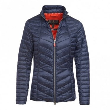 Ladies Lighthouse Quilted jacket - Navy