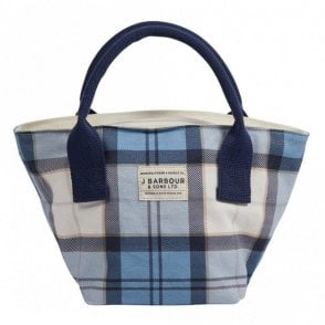 Leathen Tote Bag - Blue