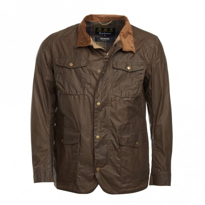 Barbour Lightweight Ogston Dark Sand - Brown