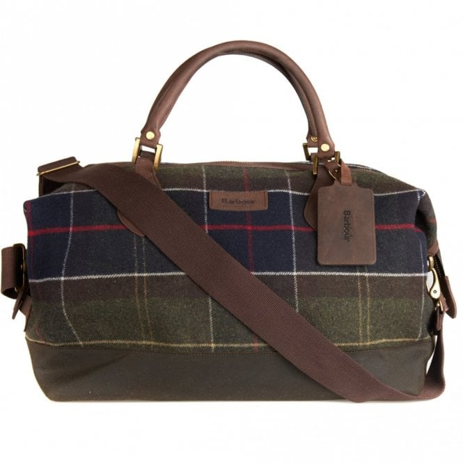 Barbour Lochy Explorer Bag - Classic Green tartan