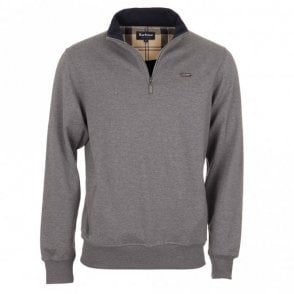 Maxton Half Zip Sweater - Grey