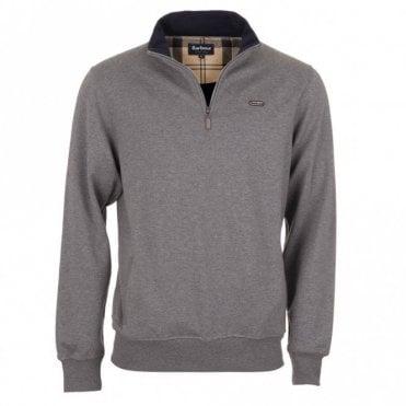 Maxton Half Zip Sweater - Grey