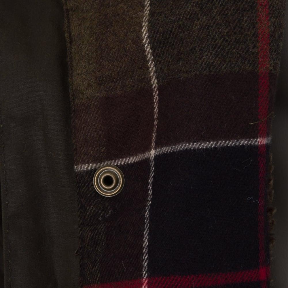 Barbour Men s Brindle Wax Jacket - Fern Green cdfa02c9c4ee