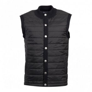 Men's Essential Gilet - Black