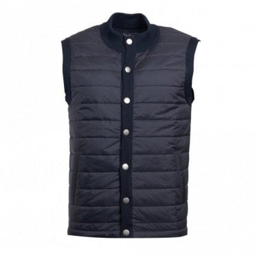 Men's Essential Gilet New Midnight - Blue