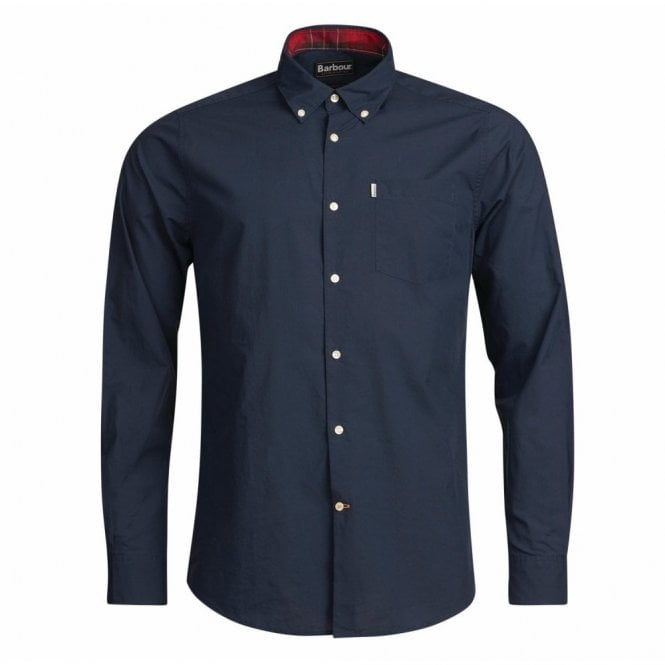 Barbour Men's Helvellyn Shirt - Navy
