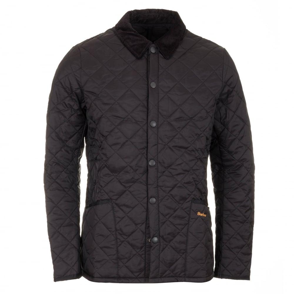 Barbour Heritage Liddesdale Quilted Jacket Black