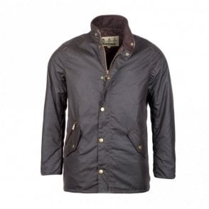 Men's Prestbury Wax Jacket - Brown