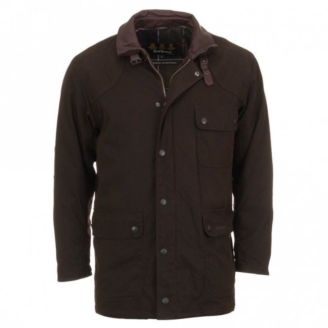 Barbour Men's Rynie Waterproof Jacket - Olive Green