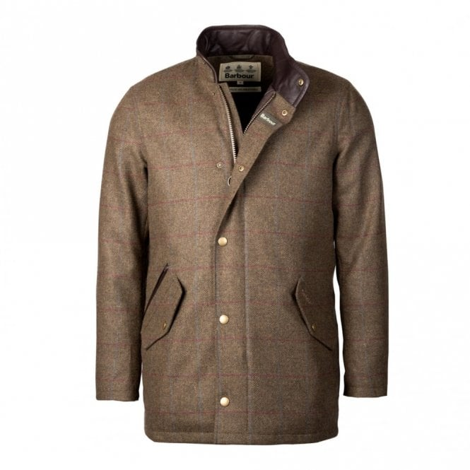 Barbour Men's Wimbrel Wool Jacket - Green Check