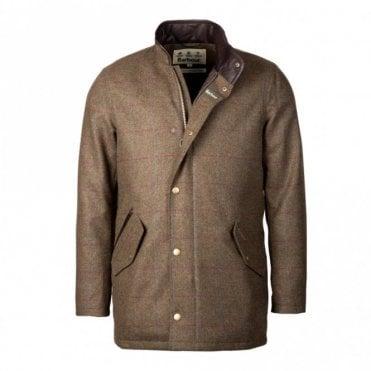 Men's Wimbrel Wool Jacket - Green Check