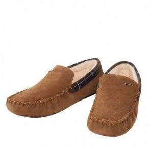 Monty Camel Slippers - Camel